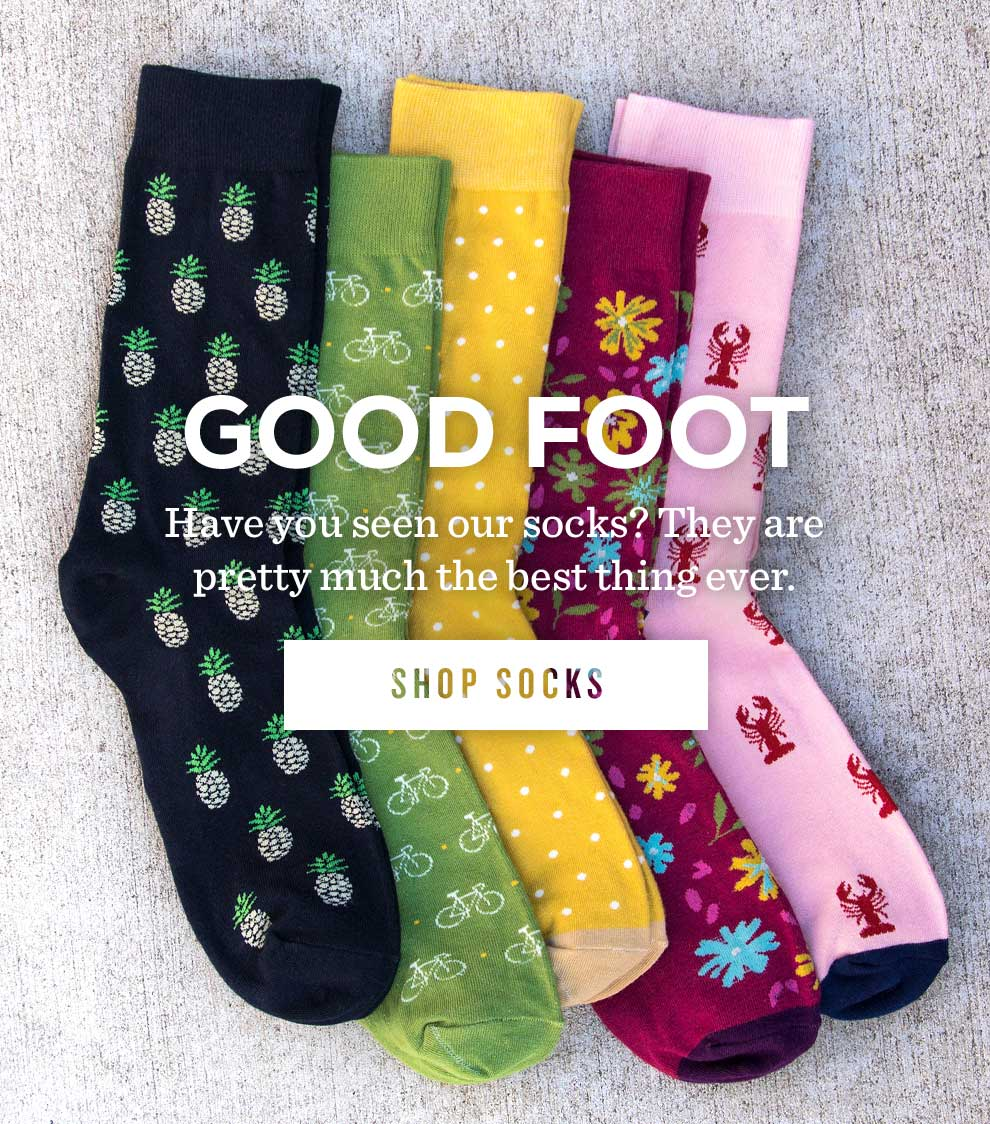 Have you seen our socks?