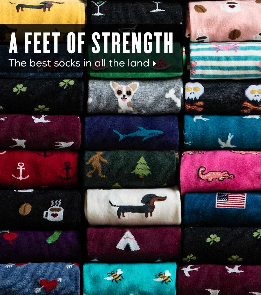 Feet of Strength